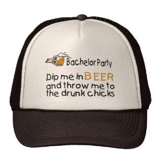Despedida de soltero gorras de camionero