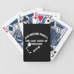 Despedida de soltero - gusto pasado del viaje de l baraja de cartas