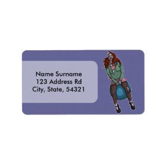 Despedir al zombi 2, etiqueta de dirección