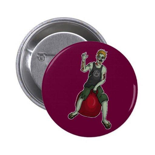 Despedir al zombi 3, botón pins