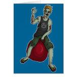 Despedir al zombi 3, tarjeta de felicitación