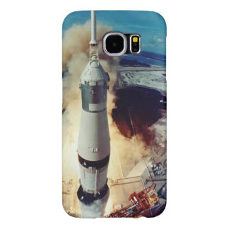 ¡Despegue!  Caja del teléfono - Apolo 11 Funda Samsung Galaxy S6