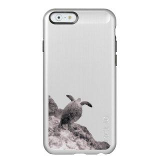 Despegue de la tortuga de mar funda para iPhone 6 plus incipio feather shine