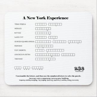 Despegue en tiempo mínimo de la palabra de N.Y.E Mousepads