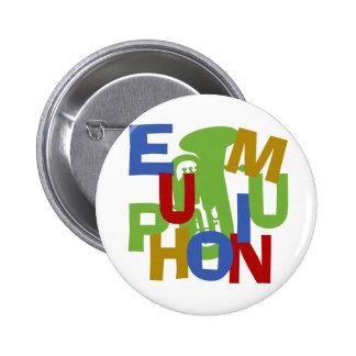 Despegue en tiempo mínimo del EUPHONIUM Pin Redondo De 2 Pulgadas