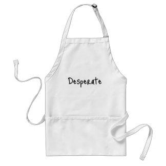 desperate adult apron