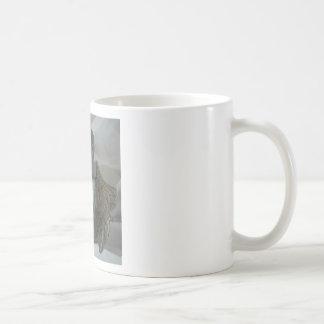 Desperate cherub praying mug