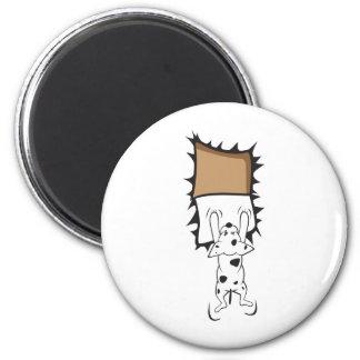 Desperate Dog Refrigerator Magnets