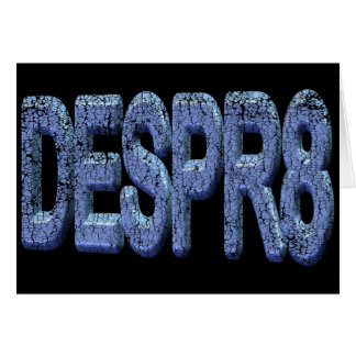 Desperate Funny T-shirts Gifts Card