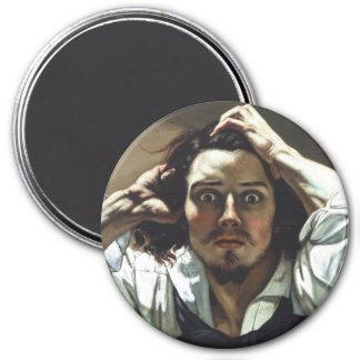 Desperate Man 3 Inch Round Magnet