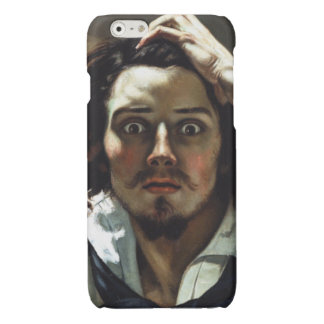 Desperate Man by Gustave Courbet Glossy iPhone 6 Case