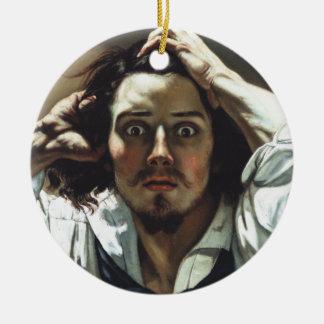 Desperate Man Ceramic Ornament