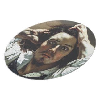 Desperate Man Melamine Plate