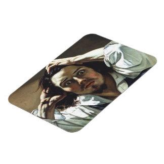 Desperate Man Rectangular Photo Magnet