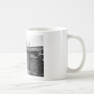Desperate Times - A shanty built from refuse Classic White Coffee Mug