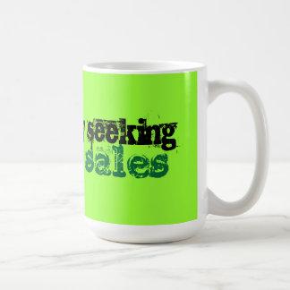 Desperately Seeking Garage Sales Coffee Mug