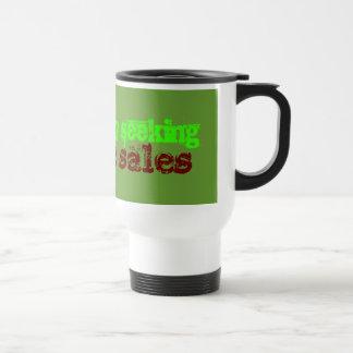 Desperately Seeking Garage Sales Travel Mug
