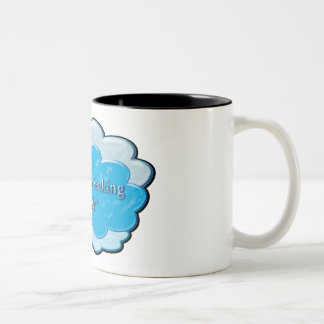 desperately seeking snoozin' Two-Tone coffee mug