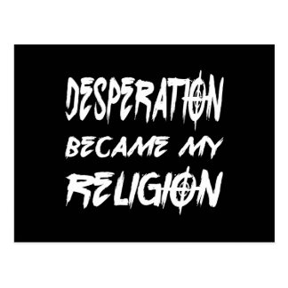 Desperation Postcard