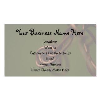 Desperdicios abstractos tarjeta de negocio