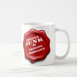 Desperdicios certificados taza de café