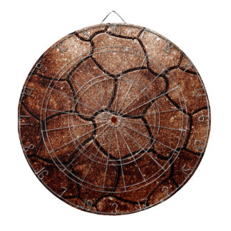 desperdicios marrones oxidados S de la antigüedad  Tablero De Dardos