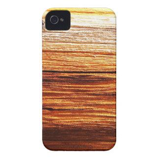 desperdicios marrones oxidados S de la antigüedad iPhone 4 Case-Mate Carcasa