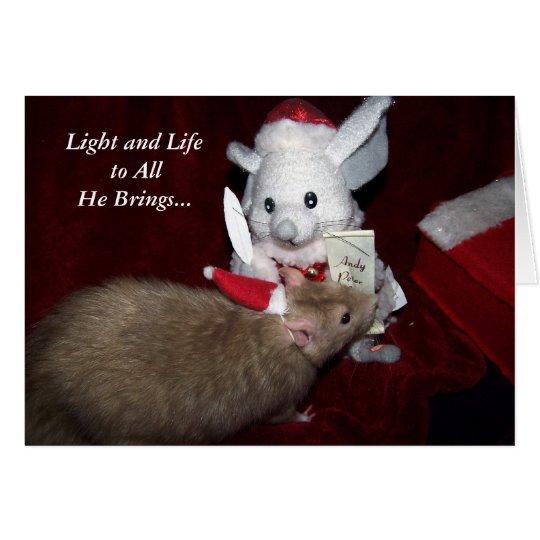 Despereaux Christmas Card