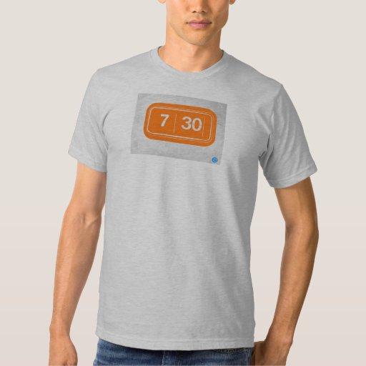 Despertador anaranjado playera