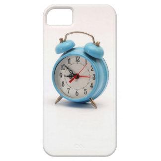 despertador azul iPhone 5 Case-Mate funda