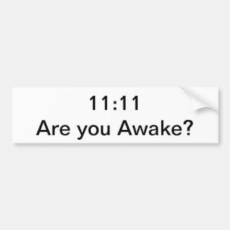 Despertar código etiqueta de parachoque
