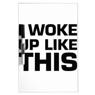 Desperté como esto tablero blanco