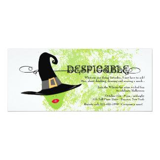 Despicable Halloween Invitation