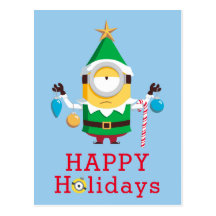 Minions Christmas Cards Assorted