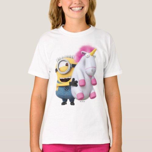 Despicable Me | Minion Stuart & Unicorn T-Shirt