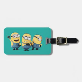Despicable Me | Minions Group Luggage Tag
