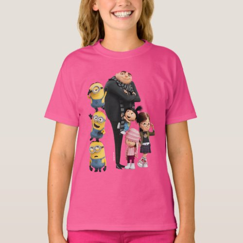 Despicable Me  Minions Gru  Girls T_Shirt