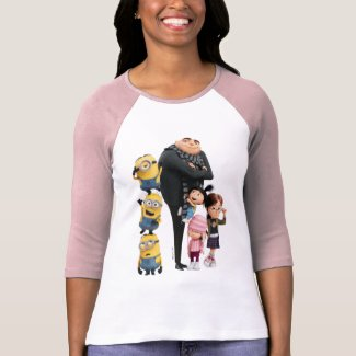 Despicable Me | Minions, Gru & Girls T-Shirt