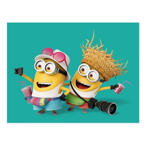 Despicable Me  Minions Vacation Postcard
