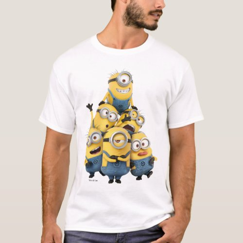 Despicable Me  Pyramid of Minions T_Shirt