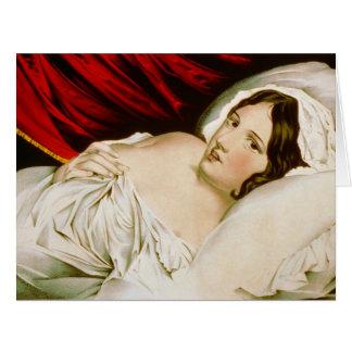 Despierte 1848 tarjeta de felicitación grande