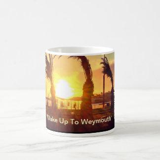 """""""Despierte a Weymouth"""" - una taza especial, un"""