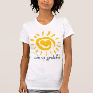 Despierte agradecido camisetas