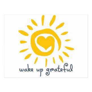 Despierte agradecido postales