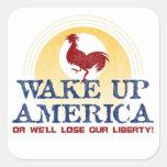 Despierte al pegatina de América