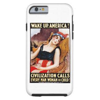 Despierte América Funda Para iPhone 6 Tough
