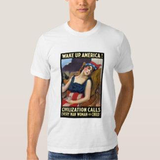 ¡Despierte América! Llamadas de la civilización Polera