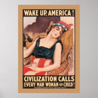 Despierte América Impresiones