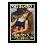 Despierte América Tarjetas