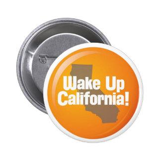 Despierte el botón de California Pin